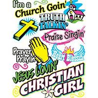 Church Goin Christian Girl T-Shirt