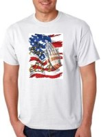 Proud to Pray For the USA T-Shirts SM - 3XL