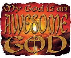 My God is an Awesome God T-Shirt Size to 3X