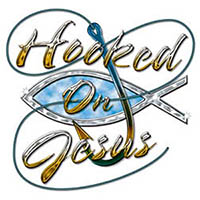 Hooked On Jesus T-Shirt, Small to 3X