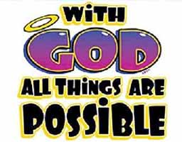 With God All Things Are Possible T-Shirt