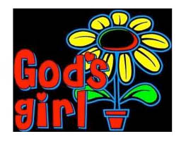 God's Girl T-Shirt, Sizes to 3X