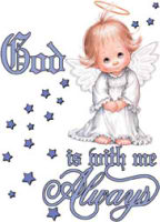 God Is With Me Always YOUTH Hoodie Sweatshirt