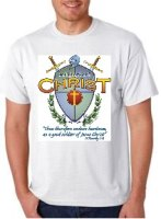 Soldier of Christ T-Shirt Medium -  3XL
