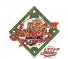 Team Jesus Softball T-Shirt, Sizes to 3X