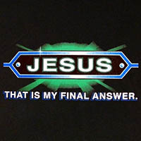 Jesus That is My Final Answer T-Shirt