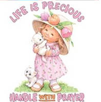 Life is Precious Handle With Prayer T-Shirt