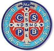 St. Benedict Applique Patch