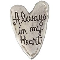 Always In My Heart Pewter Lapel Pin