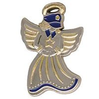Police Guardian Angel Pin