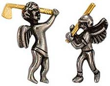 Guardian Angel Sports Pins Baseball Football Plus
