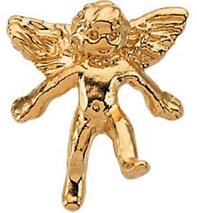 14 Karat Gold Angel Pin