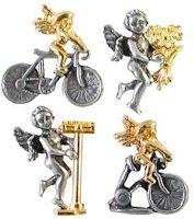 Bike Angel, Get Well Angel, Weight Loss Angel, Health Angel Pins