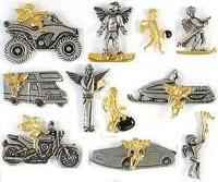 Sport Angel pins 1Tall ATV,Boating,Bowling,Camping,Coaching,Fishing,Motorcycle,Race car,Sking,Snowboard,Snowmobile,Travel.