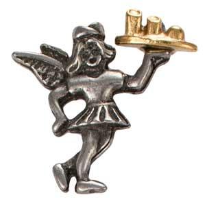 Waitress Angel Pin