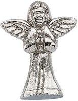 14 Karat Gold Praying Angel Pin