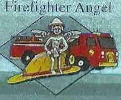 FireFighter Angel Pin