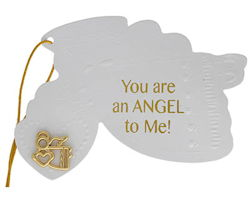 You are Angel To Me Gift Tag With Angel Pin