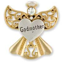 Godmother Angel Pin