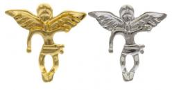 Gold or Silver Guardian Angel Pins Larger Size, Carded
