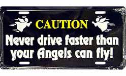 Christian Automobile License Plates & Frames