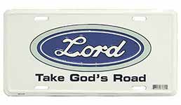 Lord Auto License Plate
