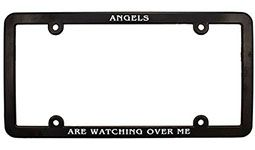 Angel are watching over Me License Plate Frame