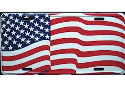 America USA Flag License Plate
