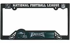 Philadelphia Eagles Football Auto Plate Frame