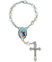 St Christopher Auto Rosary One Decade