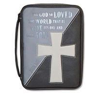 John 3:16 Bible Cover w/ Cross