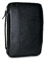 Genuine Black Leather Bible Cover