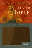 The Revised Standard Version Catholic Bible Reader's Edition