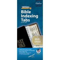 Silver or Gold Bible page marker tabs. 1 inch size, fits 7 inch to 12 inch Bibles. Self adhesive, easy to attach and permanent.