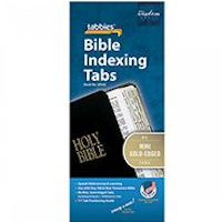 Mini Gold Bible Tabbies