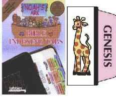 Noah's Ark Youth Bible Tabs Rainbow Colors
