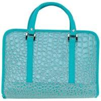 Turquoise Purse Bible Cover