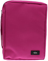 Pink Bible Cover Med, Large
