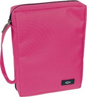 Pink Canvas BC with fish logo