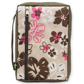 Hibiscus Flowers Bible Cover