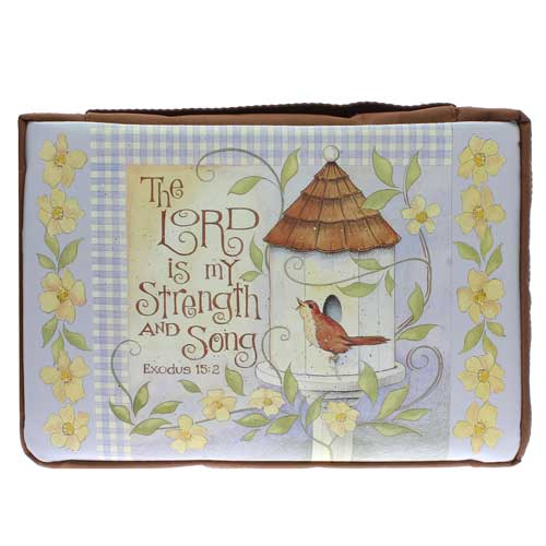 The Lord is My Strength & Song Bible Cover