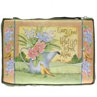 Every Good and Perfect Gift Bible Cover Brown