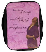 I Can Do All Things Through Christ Bible Cover