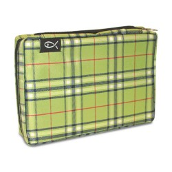 Plaid Green Bible Cover