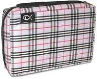 Plaid Lilac Bible Cover
