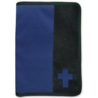 Navy Bible Wallet LG XL Bible Cover
