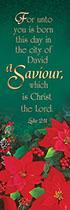 Saviour Christmas Bookmarks (Pkg of 25)
