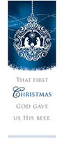 Christmas Bookmark - That First Christmas (Pkg of 25)