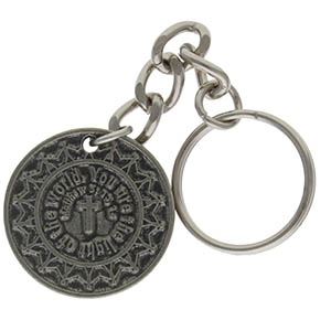 Salt of the Earth Pewter Key Chain Mathew Quote