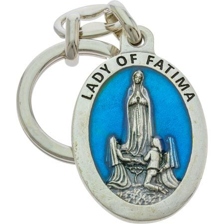 Lady of Fatima Key Chain